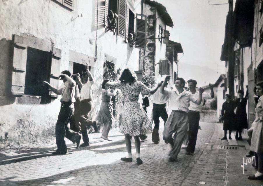 danseurs de fandango au Pays Basque